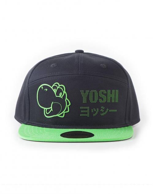 SUPER MARIO - Casquette Snapback - Yoshi Dots