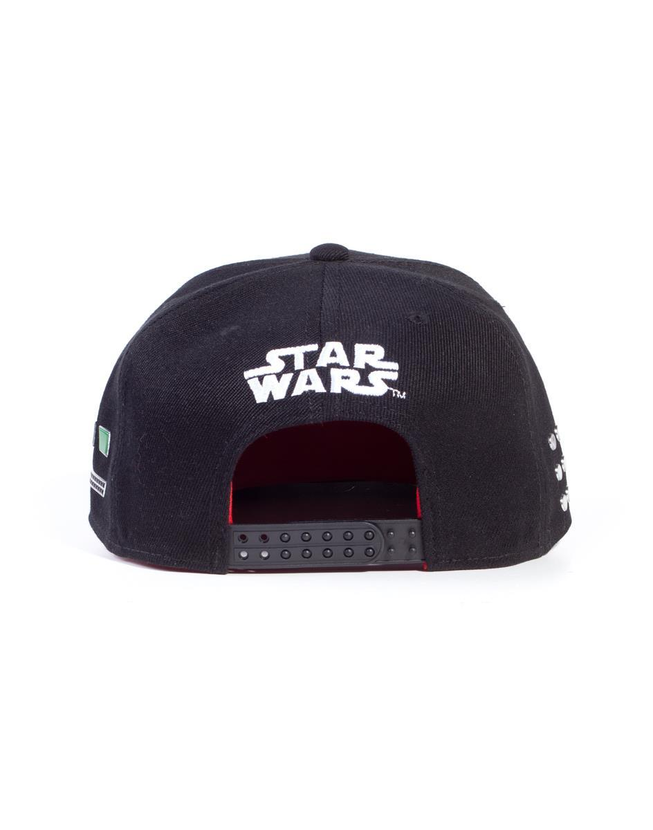 STAR WARS - Casquette Snapback - Darth Vader Buttons_2