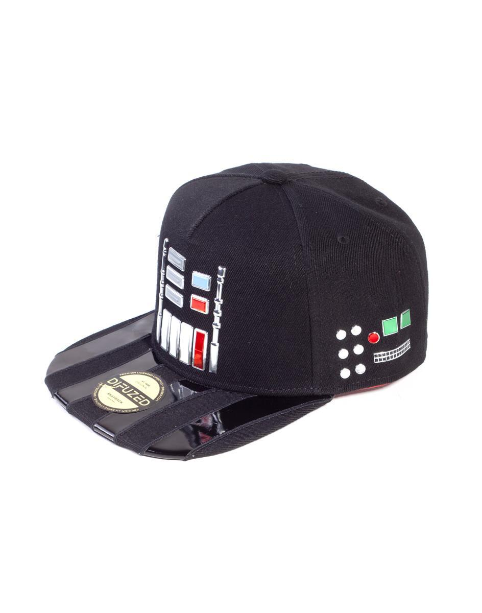 STAR WARS - Casquette Snapback - Darth Vader Buttons_3
