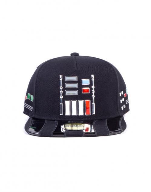 STAR WARS - Casquette Snapback - Darth Vader Buttons