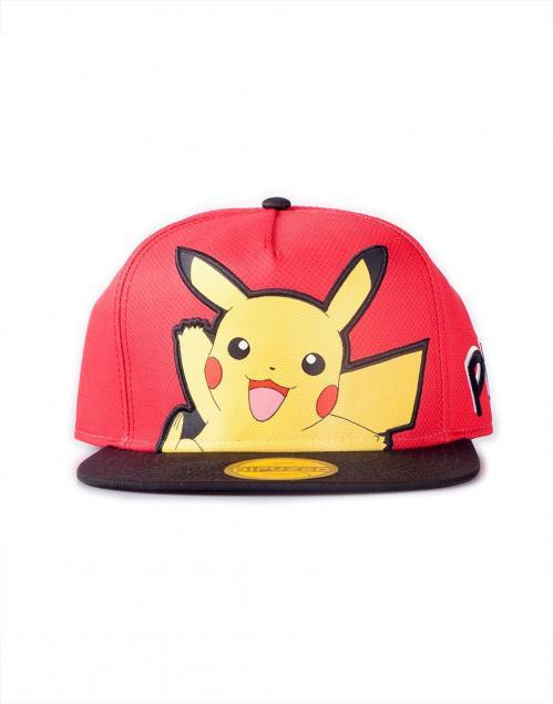 POKEMON - Casquette Snapback - Pikachu popart