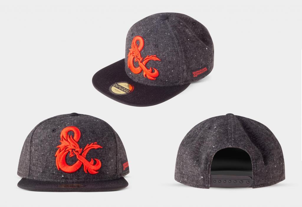 DUNGEONS & DRAGONS - Ampersand - Casquette_1