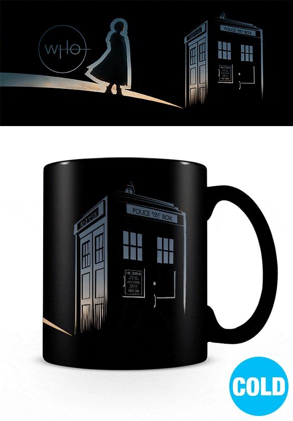 DOCTOR WHO - Mug Heat Change 315 ml - New Dawn