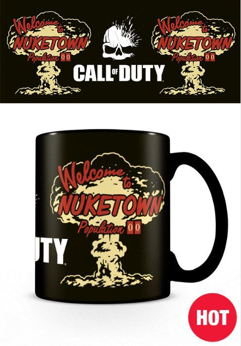 CALL OF DUTY - Nuketown - Mug thermoréactif 315ml