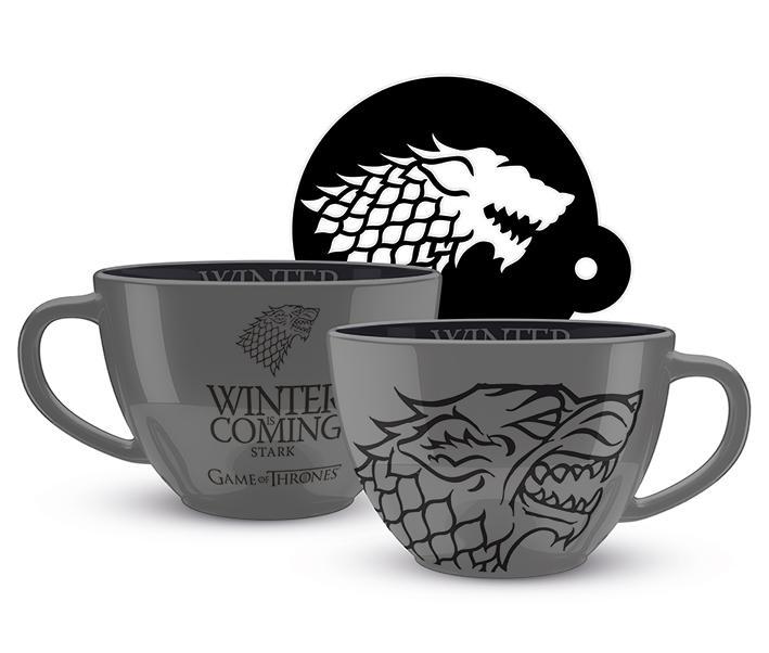 GAME OF THRONES - Cappuccino Mug 630 ml - Stark