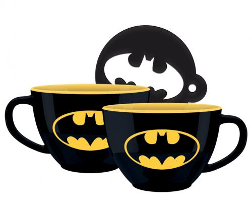 DC COMCIS - Batman - Mug à cappuccino 630 ml