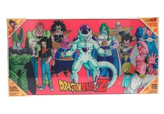 DRAGON BALL - Impression en Verre - Villains - 60X30 cm