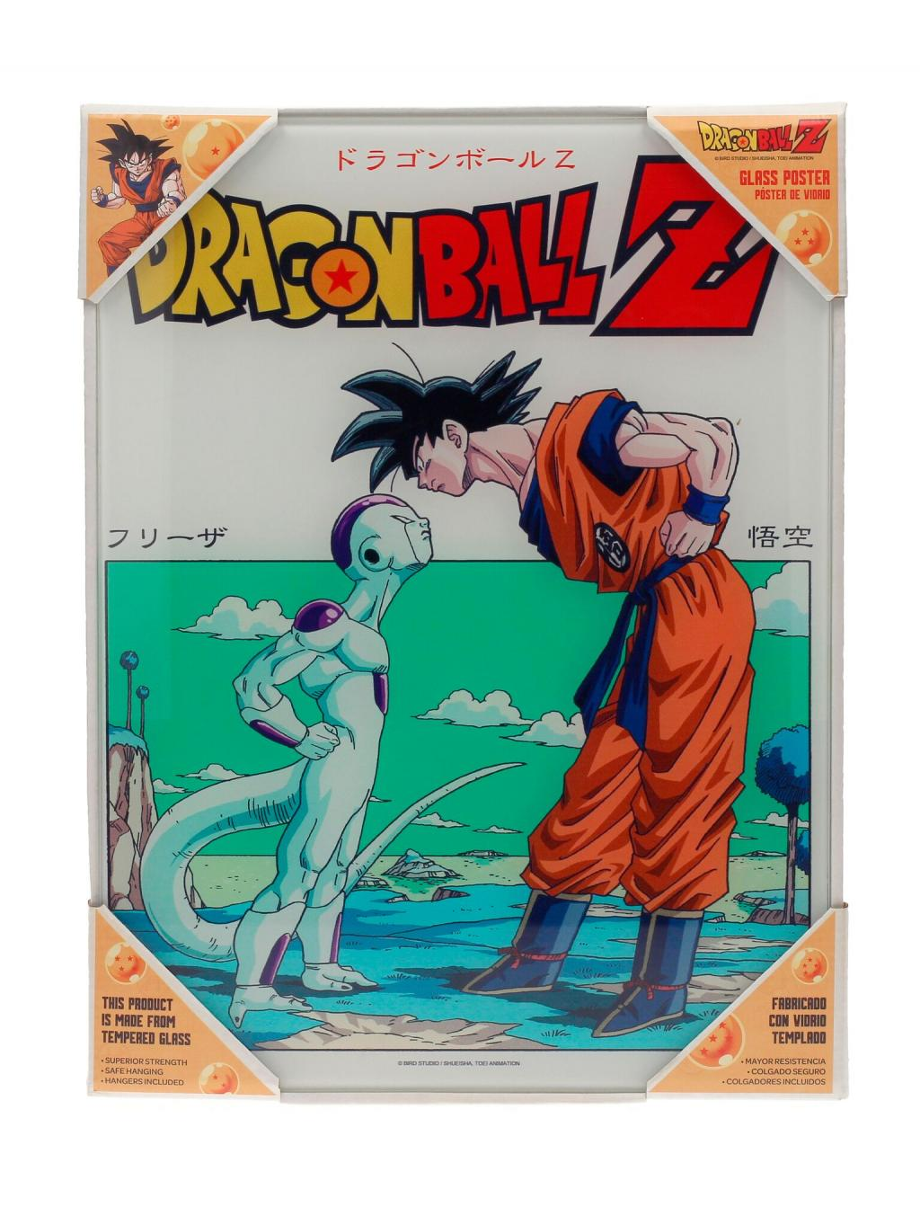 DRAGON BALL - Impression en Verre - Freezer - 30X40 Cm
