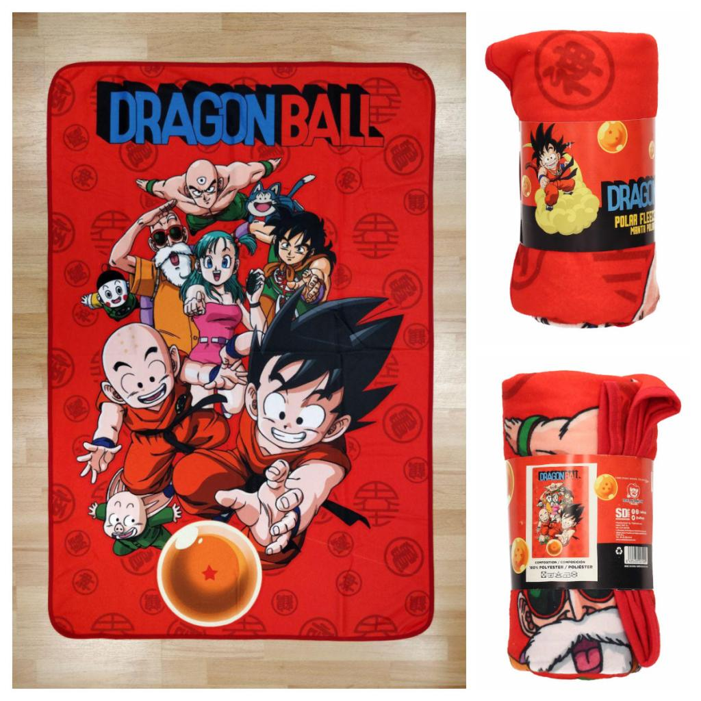 DRAGON BALL - Couverture Polaire 100X150 cm - Characters
