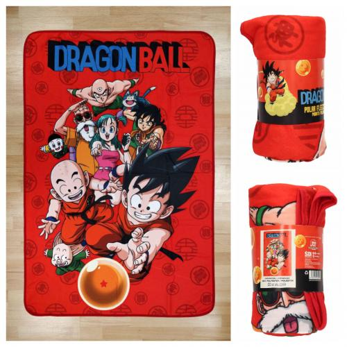 DRAGON BALL - Plaid 100X150 cm - Characters