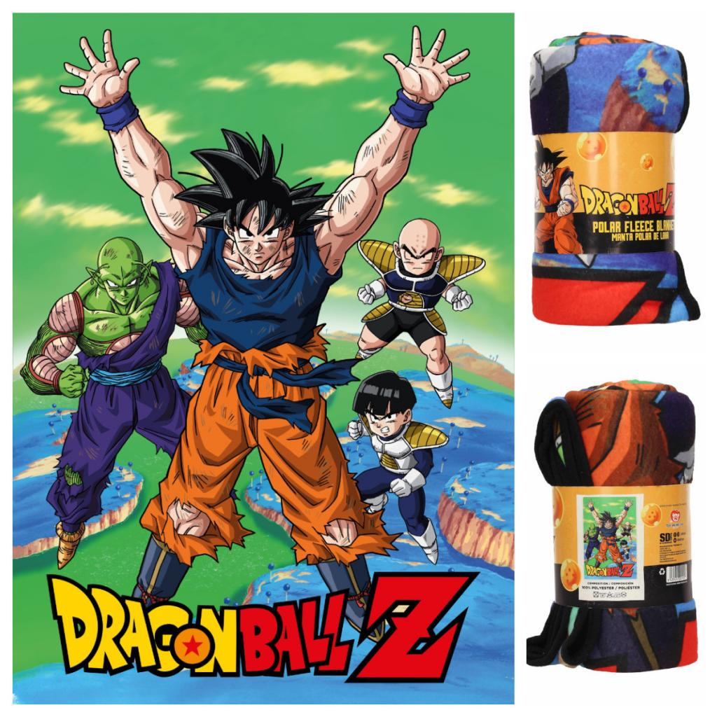 DRAGON BALL - Couverture Polaire 100X150 cm - Namek