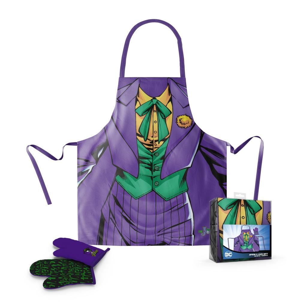 DC COMICS - Tablier et Gant - The Joker (PLASTIC BOX)