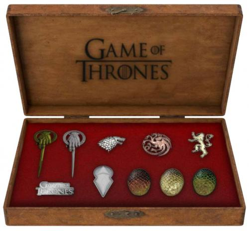 GAME OF THRONES - Set 10 Pins Deluxe - Icons