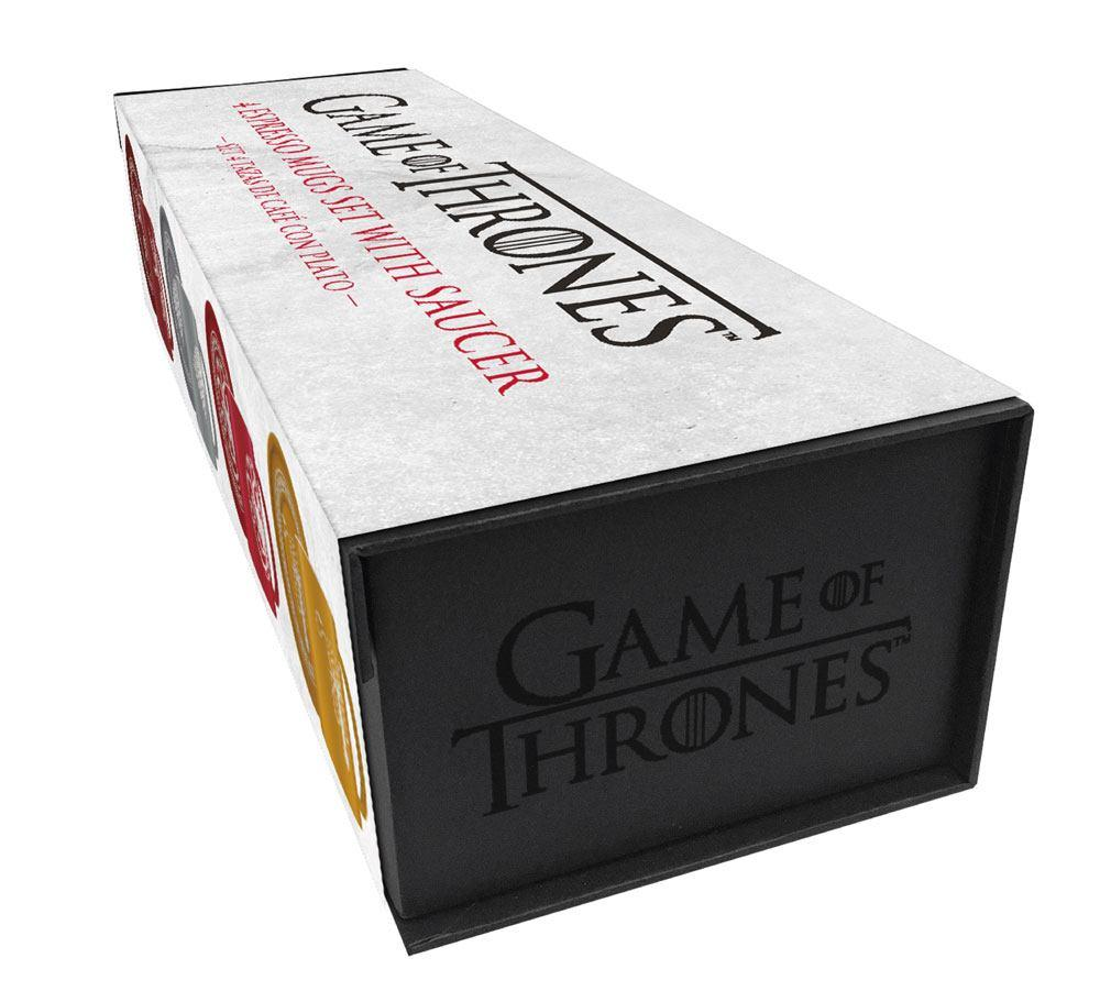 GAME OF THRONES - Pack 4 Espresso Mugs Logos Collector Edition_3