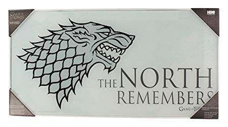 GAME OF THRONES - Impression en Verre - The North - 60X30 cm