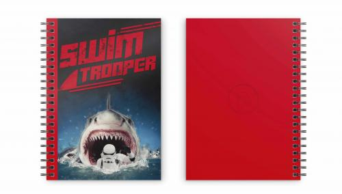 STAR WARS - Swim Trooper - Cahier spirale A5