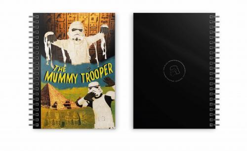 STAR WARS - Mummy Trooper - Cahier spirale A5