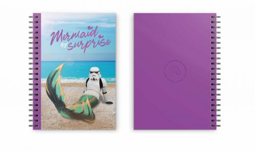 STAR WARS - Mermaid by Surprise - Cahier spirale A5