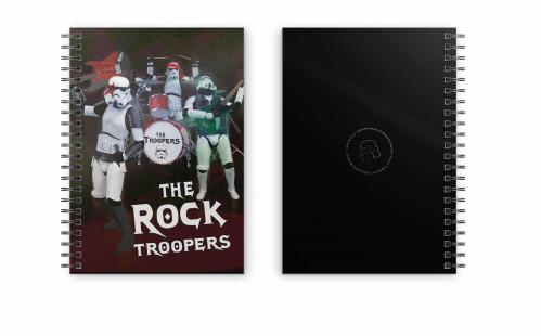 STAR WARS - Rock Troopers - Cahier spirale A5