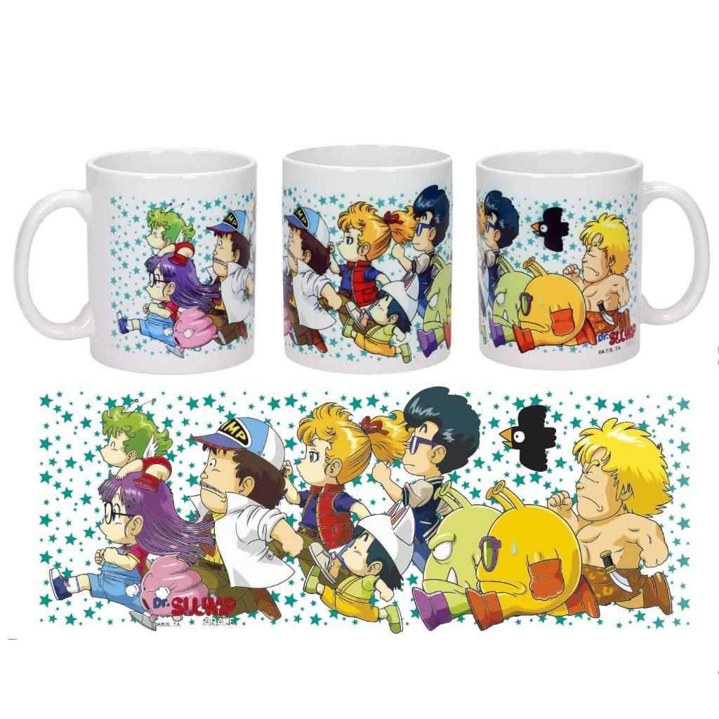 DR SLUMP - Mug - Characters Running