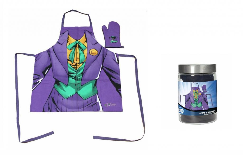 DC COMICS - Tablier et Gant - The Joker (GLASS POT)