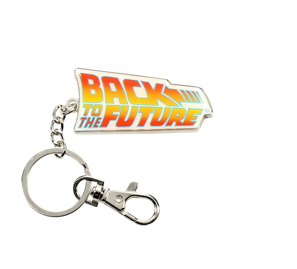 BACK TO THE FUTURE - Metal Keychain - Logo