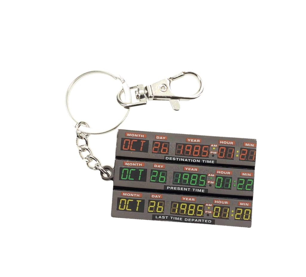 BACK TO THE FUTURE - Metal Keychain - Time Control