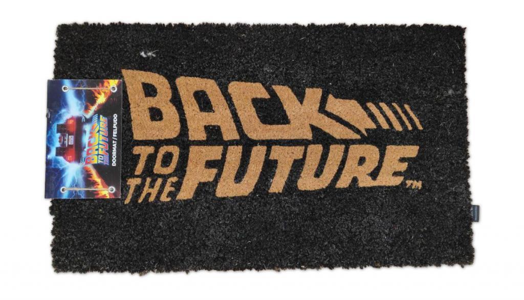 BACK TO THE FUTURE - Paillasson - Logo