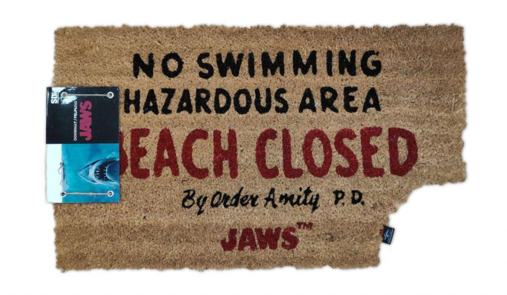 JAWS - Paillasson - Beach Closed