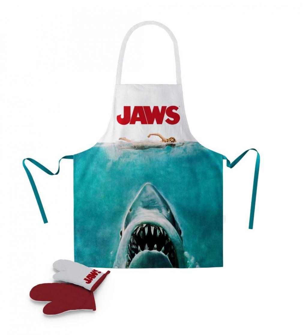 JAWS - Tablier et Gant - Poster (PLASTIC BOX)