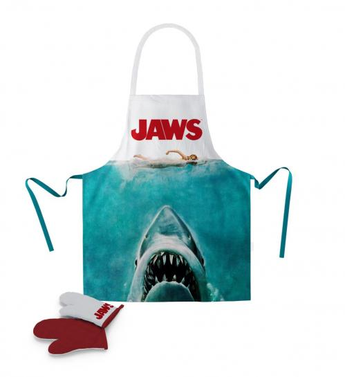 JAWS - Tablier et Gant - Poster (PLASTIC BOX)
