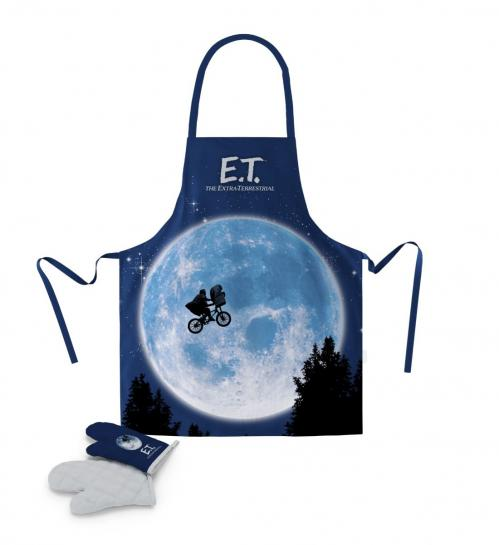 E.T. - Tablier et Gant - Moon (PLASTIC BOX)