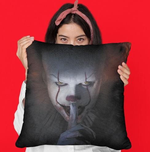 CA - Coussin carré - Pennywise Shut Up