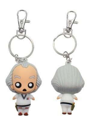 BACK TO THE FUTURE - Rubber Figure Keychain - Doc Brown