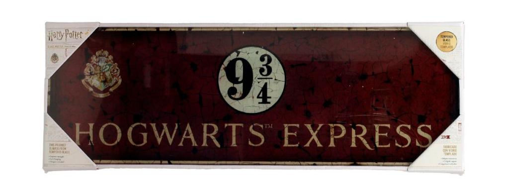 HARRY POTTER - Impression en Verre - Hogwarts Express - 60X20 Cm