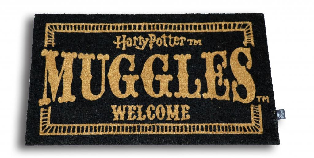 HARRY POTTER - Paillasson 43x72 - Muggles Welcome