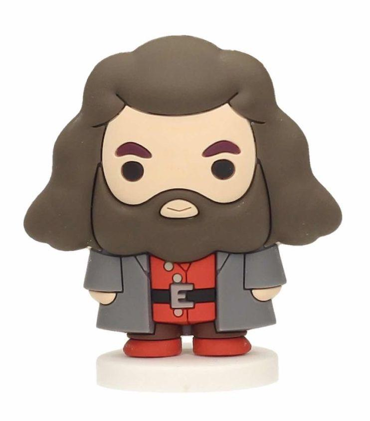 HARRY POTTER - Rubber Mini Figure 6cm - Hagrid