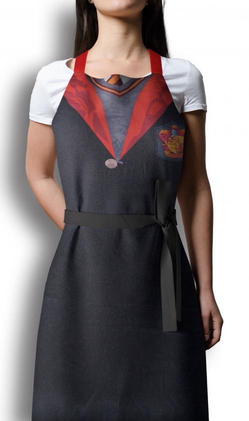 HARRY POTTER - Tablier et Gant - Gryffindor Uniform (PLASTIC BOX)