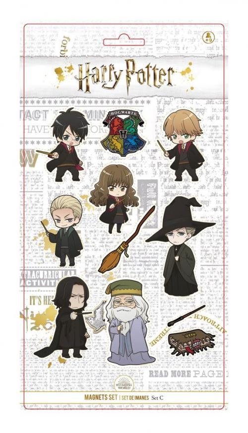 HARR POTTER - Cute Characters - Set d'Aimants