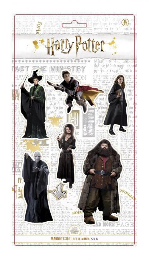 HARR POTTER - Real Characters - Set B - Set d'Aimants