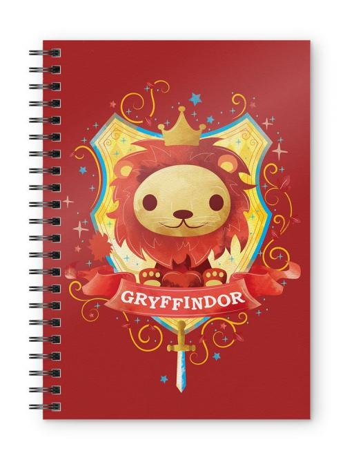 HARRY POTTER - Gryffindor Kids - Cahier spirale A5
