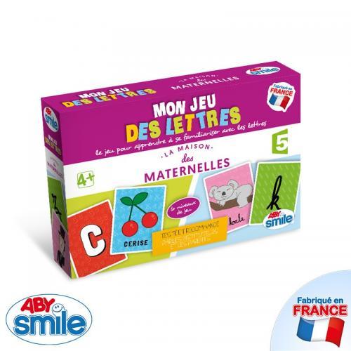Les Maternelles - Jeu - Mon Jeu des Lettres