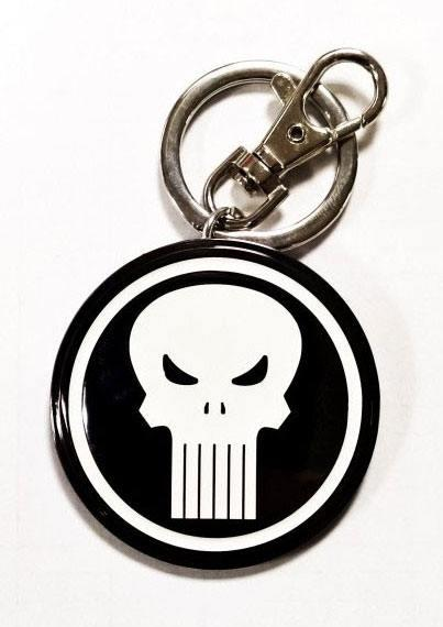 MARVEL - 3D Metal Keychain Blister Box - Punisher Logo