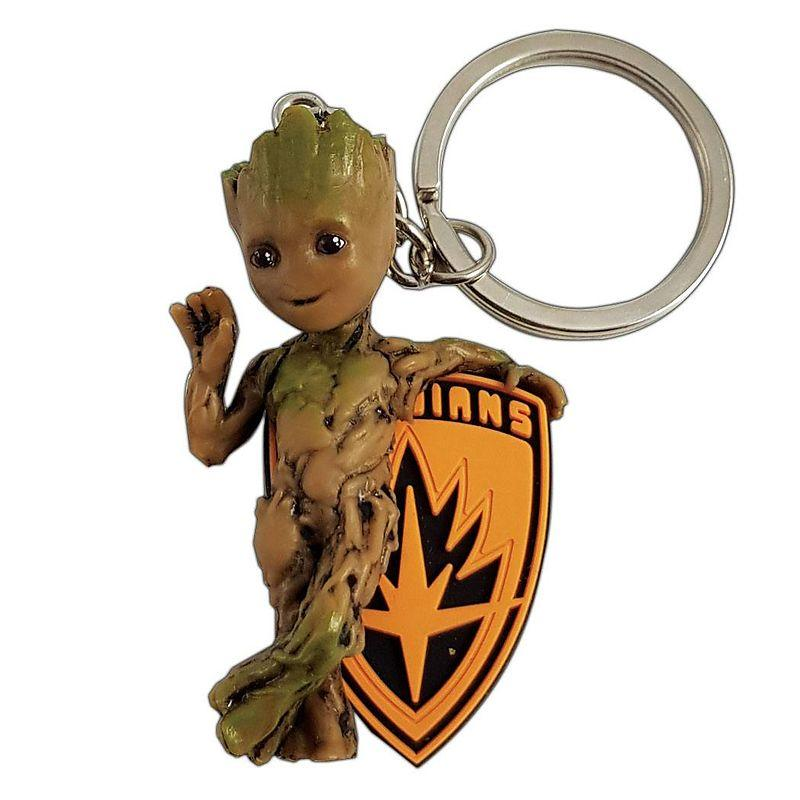 MARVEL - 3D PVC Keychain Blister Box - Baby Groot