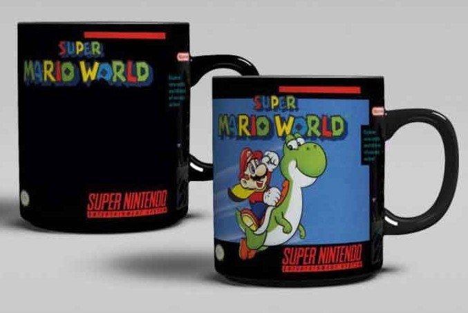 NINTENDO - Super Mario World Heat Change Mug
