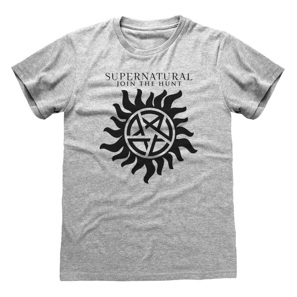 SUPERNATURAL - T-Shirt - Logo & Symbol (XL)