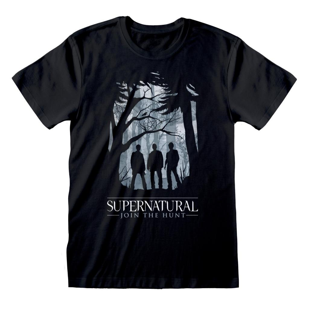 SUPERNATURAL - T-Shirt - Silhouette (XL)