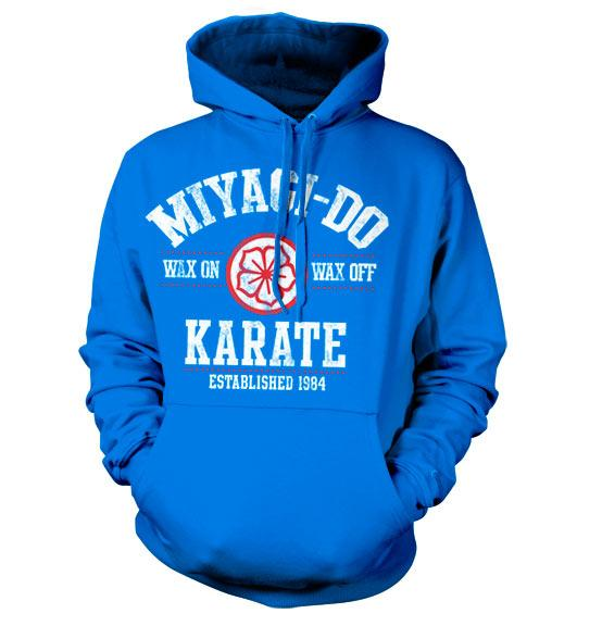 KARATE KID - Miyagi-Do Karate 1984 Hoodie - Blue (S)