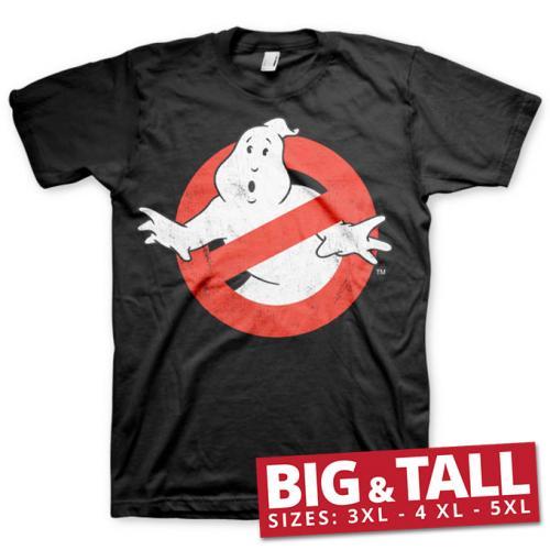 GHOSTBUSTERS - T-Shirt Big & Tall - Distressed (3XL)
