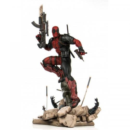 MARVEL - PrototypeZ Deadpool by Erick Sosa - Statuette 46cm